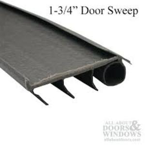 Nail on Door Sweep