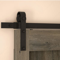 Rustic Barn Door Track